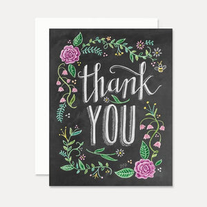 Lily & Val Thank You Card
