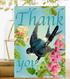 Thank You Very Much Greeting Card
