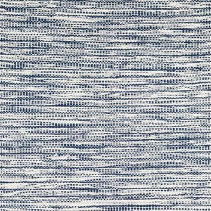 Dash and Albert Tideline Navy Indoor/Outdoor Rug - Lavender Fields