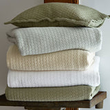 Traditions Linens Tracey Coverlet (Cream)