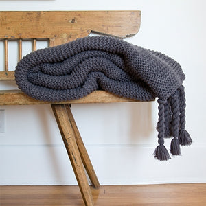 Pom Pom at Home Trestles Midnight Throw