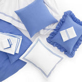 Pine Cone Hill Trio French Blue Pillowcases (Pair)
