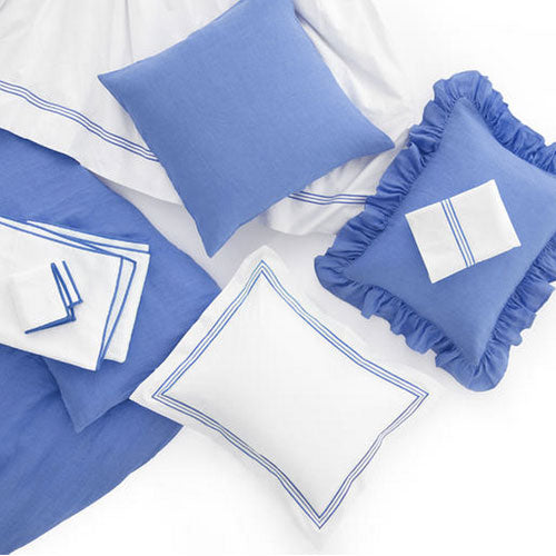 Pine Cone Hill Trio French Blue Duvet Cover