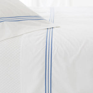Trio French Blue Pillowcases