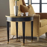 Modern History Tuxedo End Table - Lavender Fields