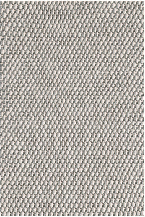 Dash and Albert Two-Tone Rope Platinum/Ivory Indoor/Outdoor Rug - Lavender Fields