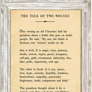 Sugarboo Designs The Tale of Two Wolves - Book Collection (White Wash)