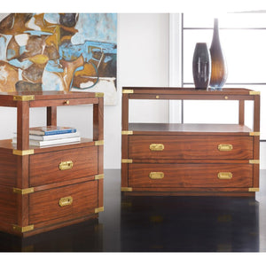 Modern History Large Spinnaker Bedside Chest