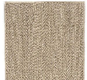 Dash and Albert Wave Natural Sisal Woven Rug