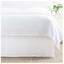 Pine Cone Hill Wilton White Bed Skirt