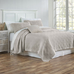 Traditions Linens Whitney Coverlet - Lavender Fields