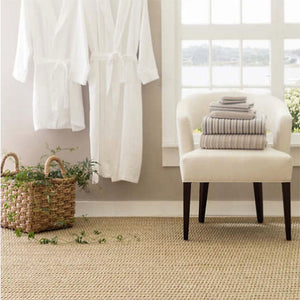 Dash and Albert Wicker Natural Sisal Woven Rug