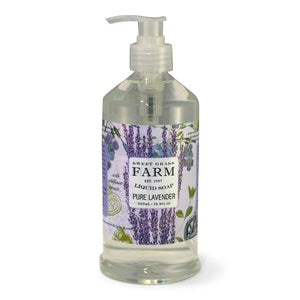 Lavender Liquid Soap With Wildflower Extracts