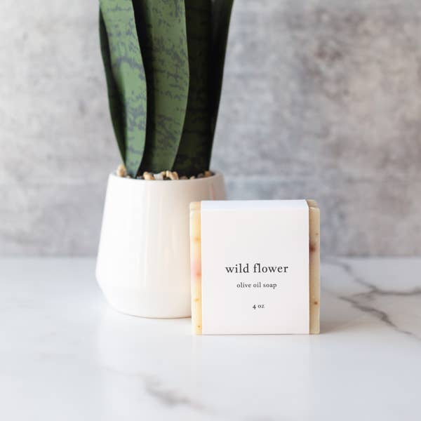 Roote Wild Flower Olive Oil Soap