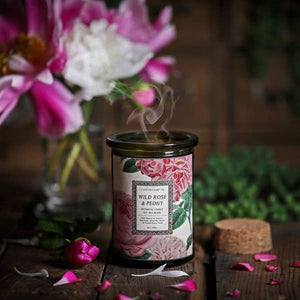 Wild Rose + Peony Candle