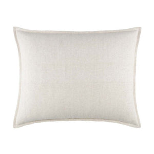 Pine Cone Hill Wilton Natural Decorative Pillow - Lavender Fields