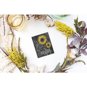 Lily & Val You Are My Sunshine Card - Lavender Fields