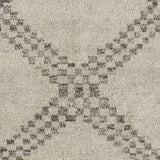 Dash and Albert Zillah Grey Hand Knotted Wool Rug