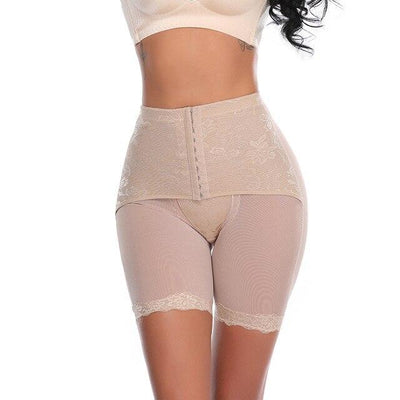 prowaist™ - Underwear Slimming Waist Trainer prowaist.co.uk Beige S
