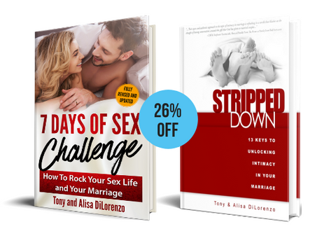 7 Days of Sex Challenge (2nd Edition) AND Stripped Down Book Bundle