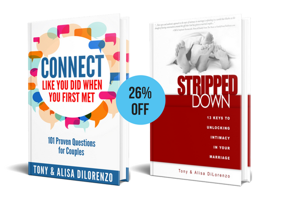 Connect Like You Did AND Stripped Down Book Bundle
