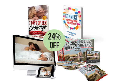 Sex & Communication Everything Package - Soft Cover Books AND Digital Download Programs