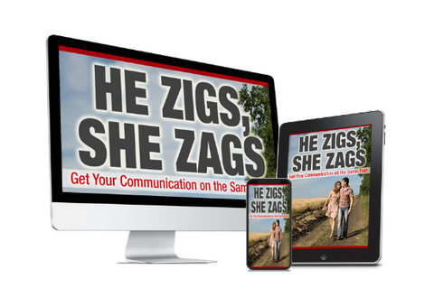 He Zigs, She Zags: Get Your Communication on the Same Path - Digital Download