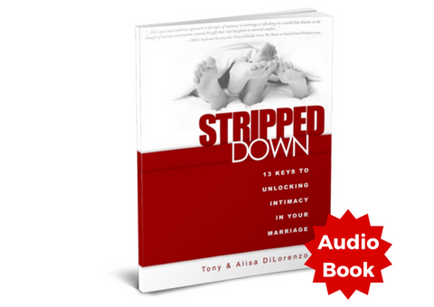 Stripped Down: 13 Keys to Unlocking Intimacy in Your Marriage - Audiobook
