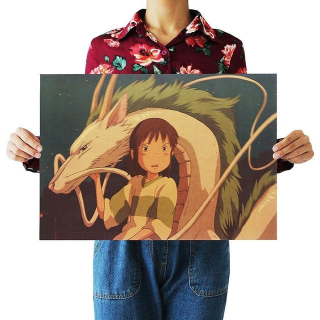 Anime Movie Poster set Kraft Paper - MyEKLEKTIK