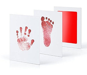 Baby Care Non-Toxic Baby Handprint Footprint Imprint Kit Baby Souvenirs Casting Newborn Footprint Ink Pad Infant Clay Toy Gifts - MyEKLEKTIK