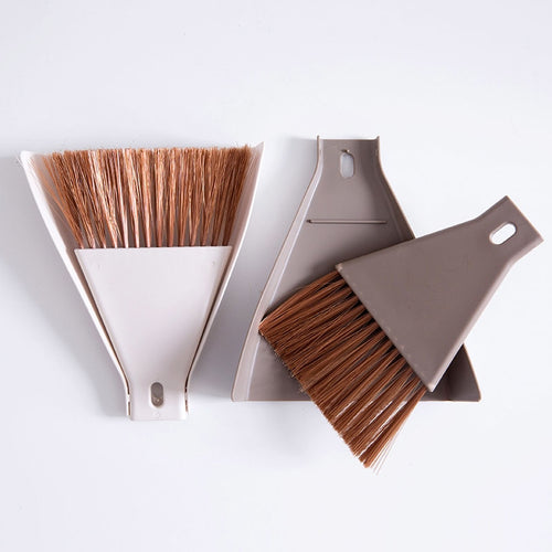 2pcs/set Mini Desktop Broom and Dustpan Set - MyEKLEKTIK