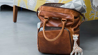 Diaper Bag #101 with Mally Leather Bags