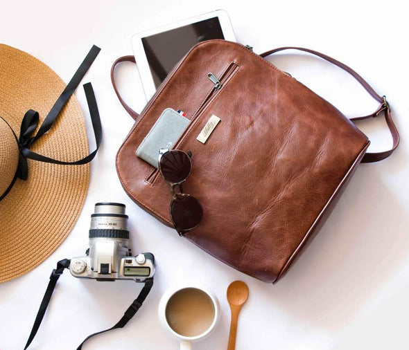 The Traveler in Brown