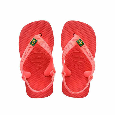 Baby Havaianas Brazil - Coral