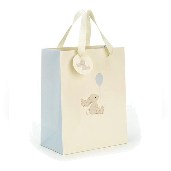 Bashful Bunny Gift Bag - Blue