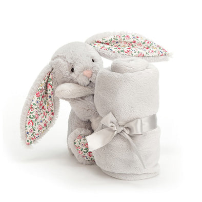 Blossom Bunny Soother - Silver