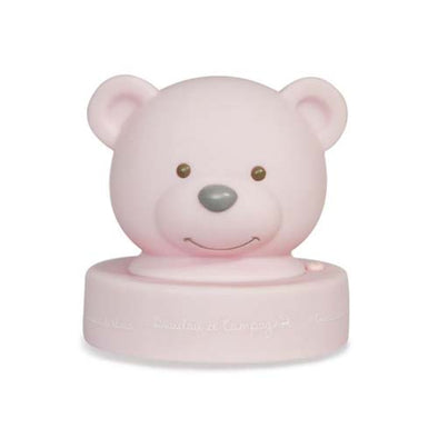 Bear Nightlight Pink