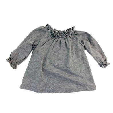 Dakota Easy Top - Grey Melange