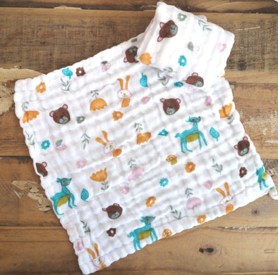Muslin Facecloth Deer