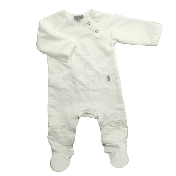 Lorax Winter Babygrow - White