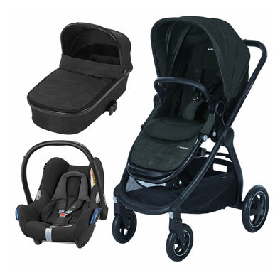 Maxi Cosi Adorra Travel System with Base - Nomad Black