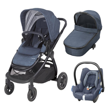 Maxi Cosi Adorra Travel System with Base - Nomad Blue