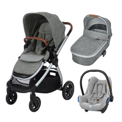 Maxi Cosi Adorra Travel System with Base - Nomad Grey