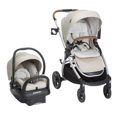 Maxi Cosi Adorra Travel System with Base - Nomad Sand BBC