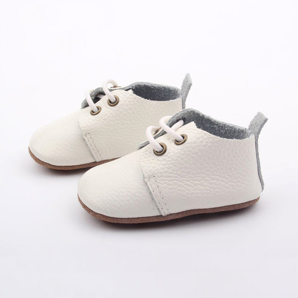 Oxfords Soft Sole - White