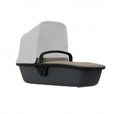 Quinny Zapp Lux Carrycot - Sand on Graphite