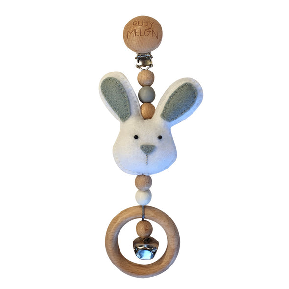 Heartfelt Travel Dangle - Bunny