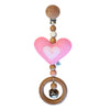 Heartfelt Travel Dangle - Heart