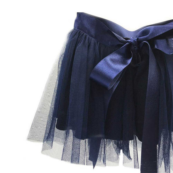 Sophia Ribbon Tutu - Navy