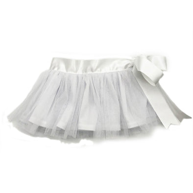 Sophia Ribbon Tutu - White